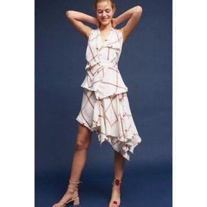 Acler Plaid Linen Dress